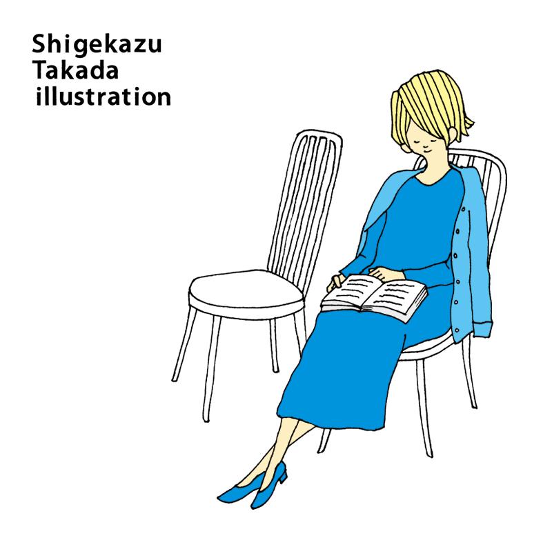 Shigekazu Takada illustration